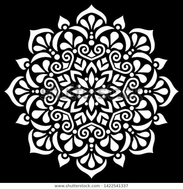 Trouvez Des Images De Stock De Mandala Pattern White Doodles Sketch Good En Hd Et Des Millions D Autres Pochoirs Mandalas Pochoirs Gratuits Mandala A Imprimer