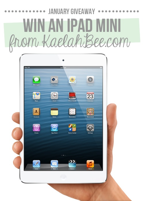 Win an iPad Mini! Little Chief Honeybee!