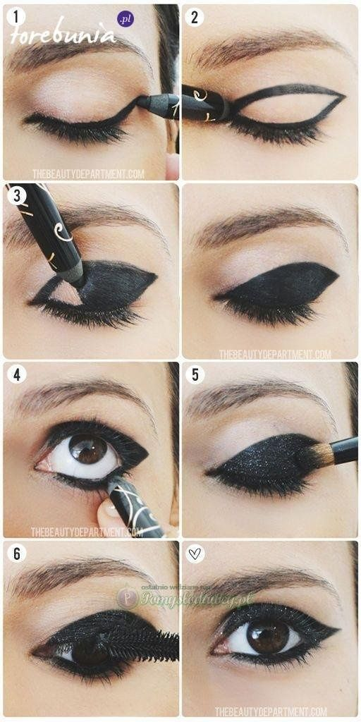 what effect! #beauty #makeup #black #eye #wonderful