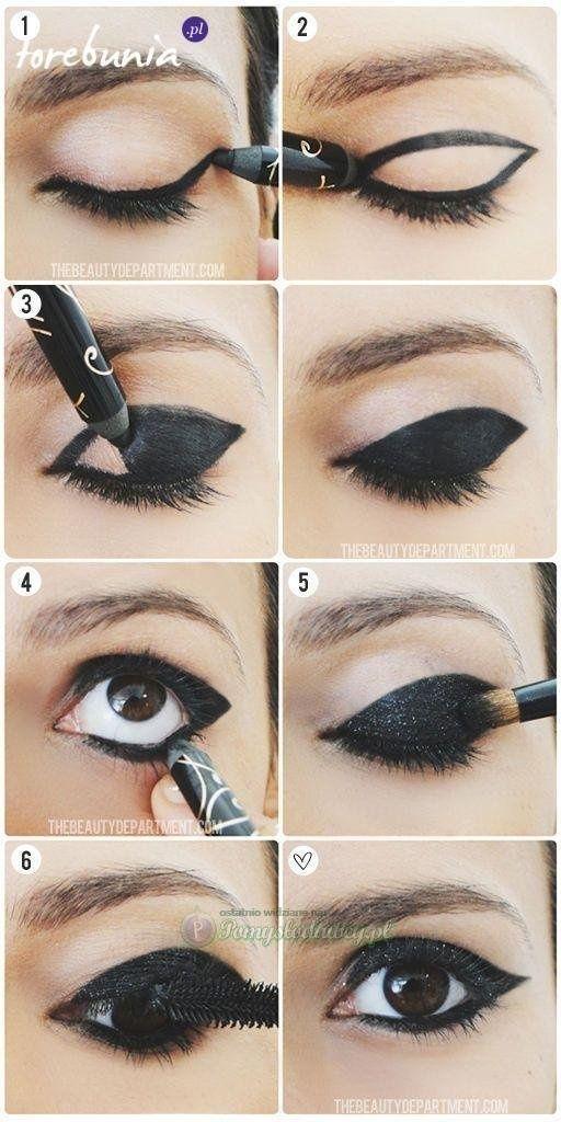 what effect! #beauty #makeup #black #eye #wonderful