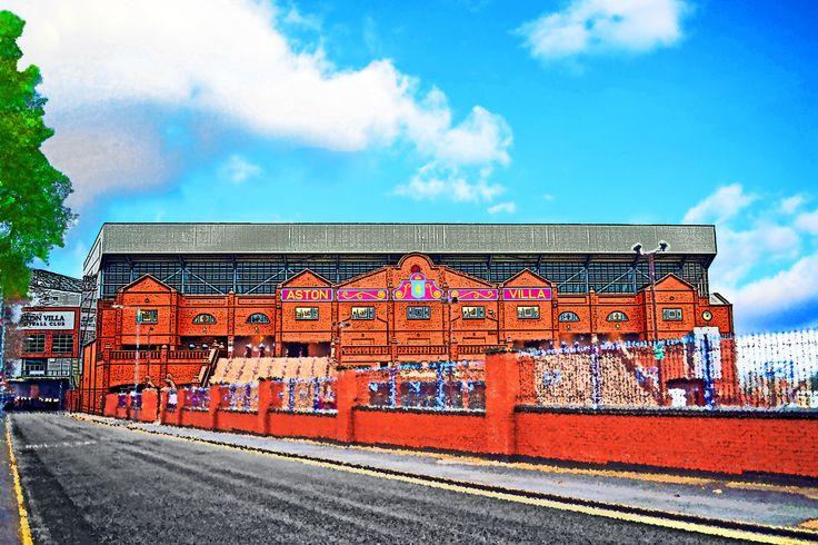 Holte End, Villa Park, Birmingham; home of Aston Villa