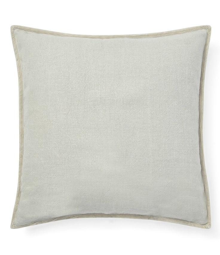 Ralph Lauren Cassie Collection Sonya Linen Square Pillow Green N