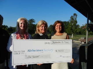 Scotia donates 5000 for the Forget Me Not Golf tournament