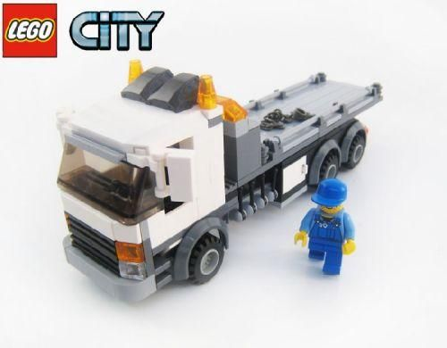 Rollback tow truck