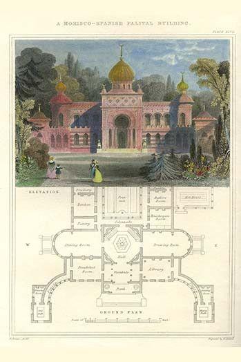 Morisco-Spanish Palatial Building