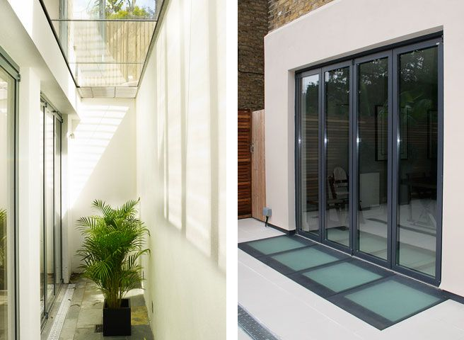 LIGHTWELL COVER AND POOR SLABS basement-lightwell-design - BasementWorks
