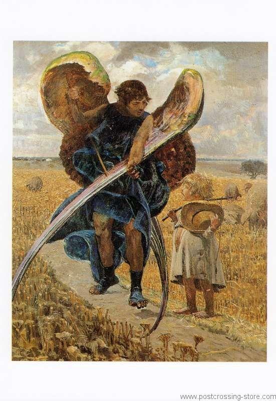 Jacek Malczewski -Za aniolem