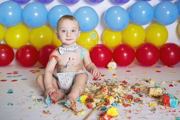 Boy cake smash   red blue yellow cake smash   Professional Photographer Melbourne   Photographer Werribee   Newborn Photography   Cheap Photographer Werribee   Cake Smash