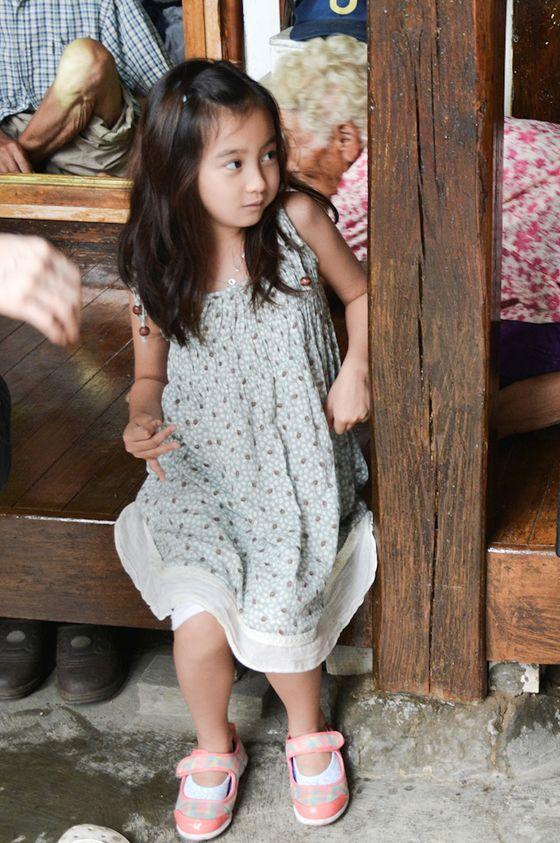 韓国の注目の 可愛い子 役タレントのカル・ソウォン