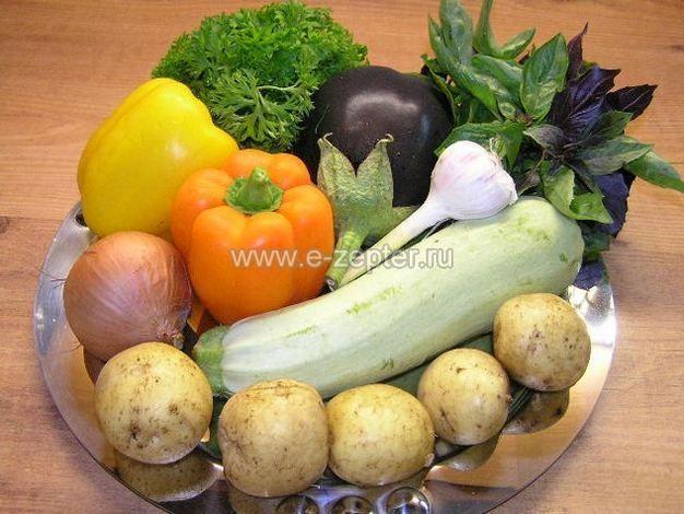 Овощное рагу с мясом от Цептер (Zepter) 1