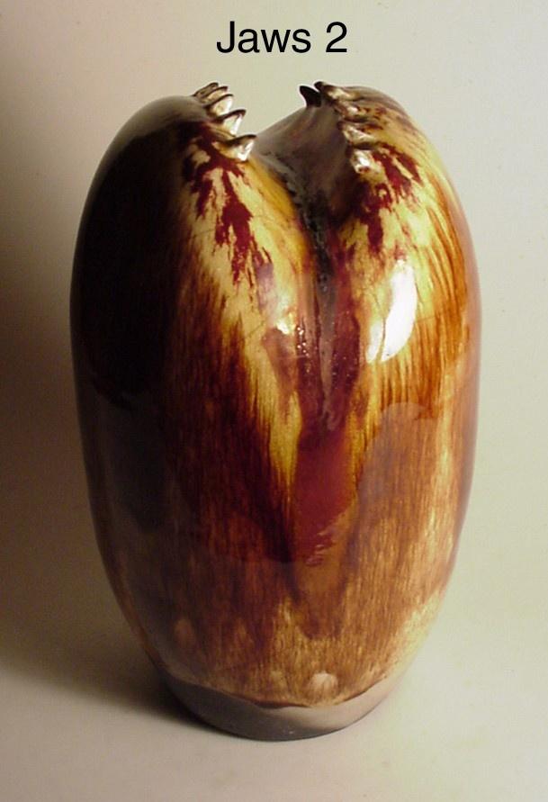Jaws 2Fire Ceramics, Raku Fire, Ceramics Sculpture