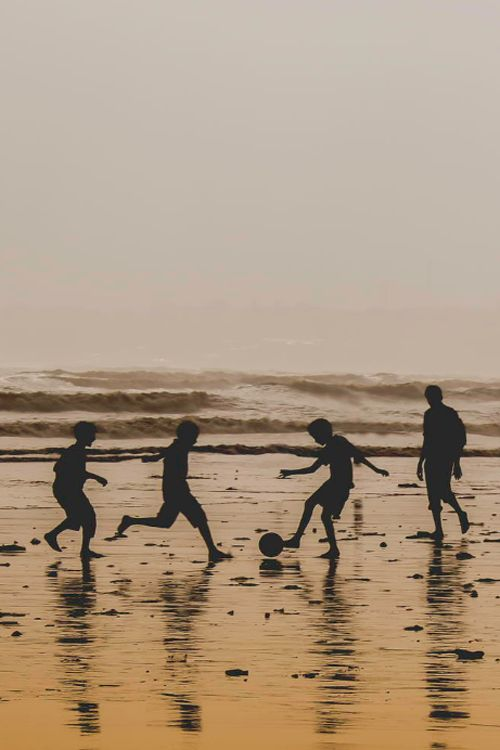 Beach Soccer! Something I have always wanted to do!!! Especially by the Ocean:)