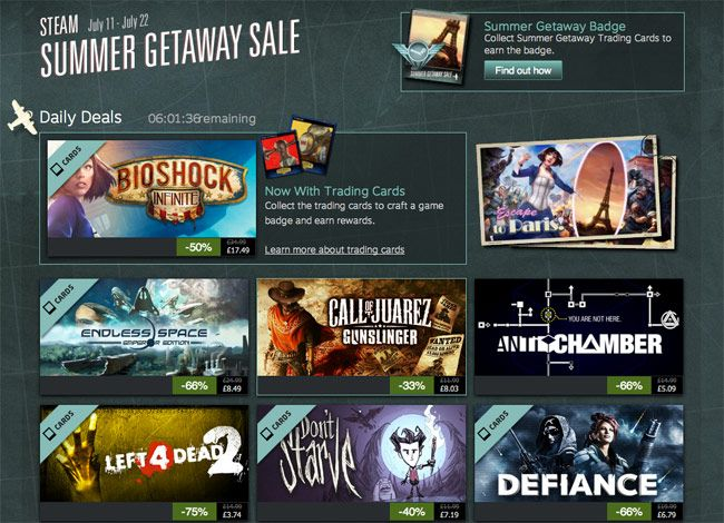Steam Sales Tracker Helps You Grab A Bargain In The Steam Summer Sale - The Steam Sales Tracker allows you to filter the 1605 games currently on sale and lets to select between DLCs, Guides and Packages all in the currency of your choice. | Geeky Gadgets