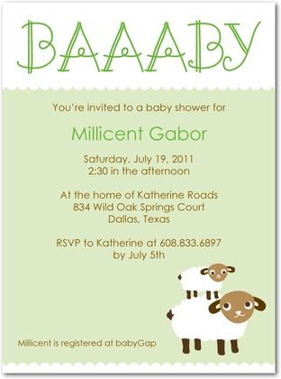 64238578d3fadb01cd80a953e6725b1a invitations baby showers shower time 44 best lamb baby shower images on pinterest,Lamb Themed Baby Shower Invitations