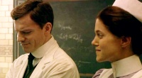 """ONE OF THE GREATEST TELEVISION COUPLES EVER :WILLIAM HOUSTON AND CHARITY WAKEFIELD AS DR CULPIN AND ETHEL BENNETT ON THE BBC'S """"LONDON HOSPITAL"""" A.K.A. 'CASUALTY"""""""