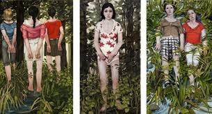 Biljana Djurdjevic, rivisitazione della Primavera del Botticelli