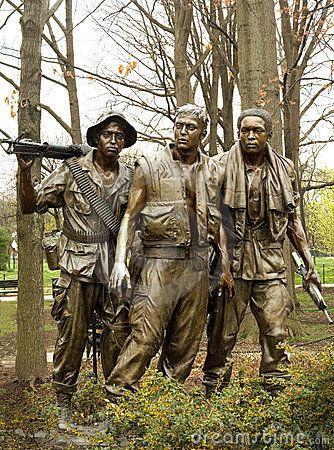 Vietnam War Memorial Stock Image -