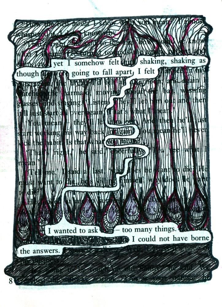 The Answers - artist book print. £5.00, via Etsy.