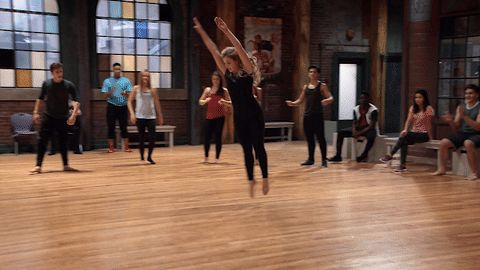 dance dancing season 4 michelle freestyle audition the next step tnsseason4 next step a troupe victoria baldesarra #gif from #giphy