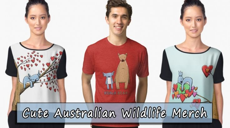 As the year is drawing to a close I'd like to report that the most popular designs that have been purchased this year that feature my cute Australian Wildlife designs are the sleepy koalas with their love hearts, and the animal duo Koala Bear.