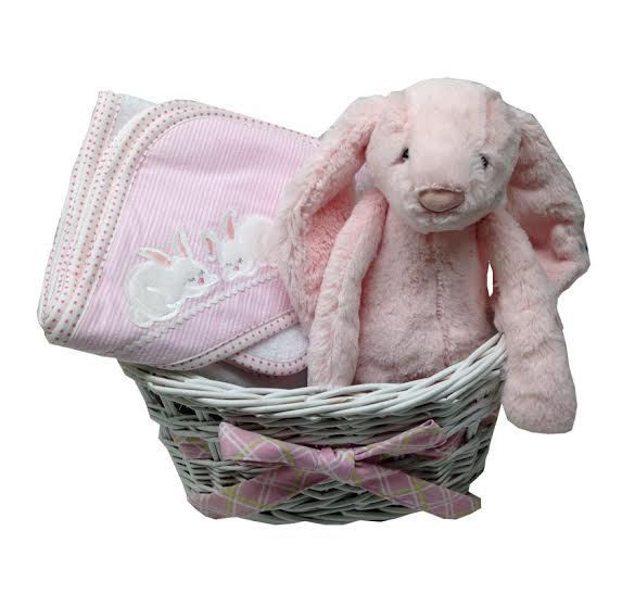 69 best baby gift baskets images on pinterest baby gift baskets namely newborns personalized baby basket basket of bunnies 7500 http negle Gallery