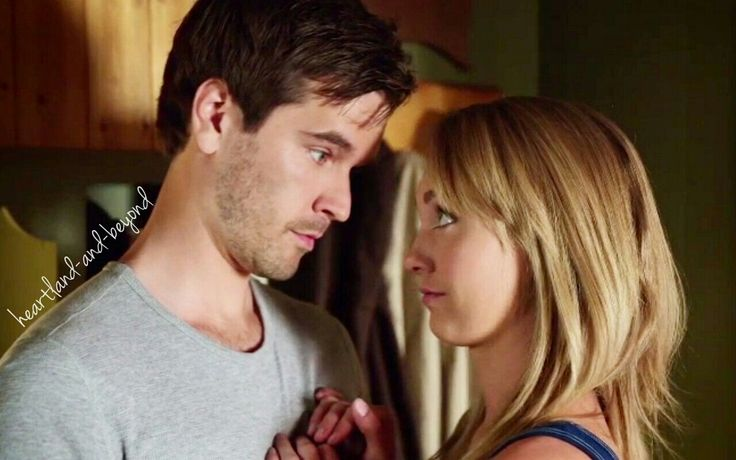 Heartland - Season 7 Episode 6 - Now or Never That looks on Amy's face though ;)