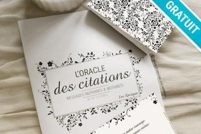 L'Oracle des Citations – Messages Inspirants et motivants