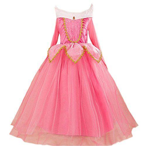 children fairy dresses   GenialES Costume Principessa Rosa Carino Costume Cosplay Festa Nuziale ...