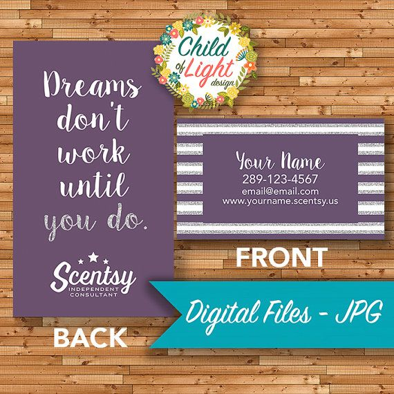 101 best authorized scentsy vendor scentsy business cards images authorized scentsy vendor business cards custom business card purple dreams personalized cards print your own on vistaprint reheart Image collections