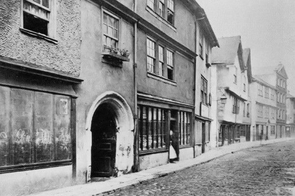 Plymouth Barbican Southside St. 02 - OLD PHOTOS OF PLYMOUTH DEVON
