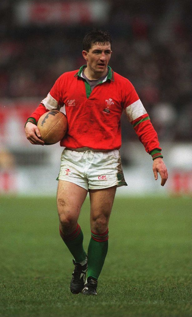 Robert Jones - Former Welsh Rugby Union Player. 1990.