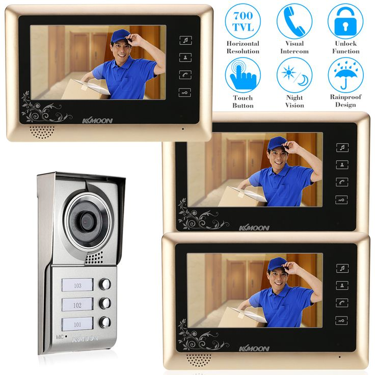 521 best Door Intercom images on Pinterest | Door bells, Doors and Gate