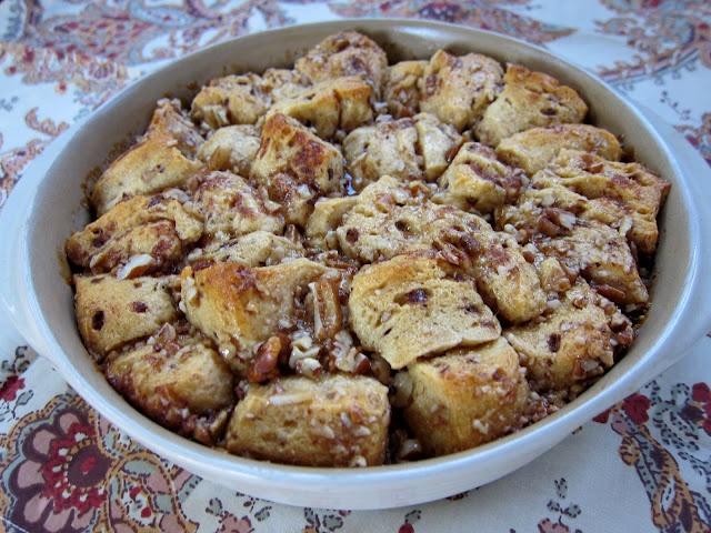 Cinnamon Caramel Pecan Bread