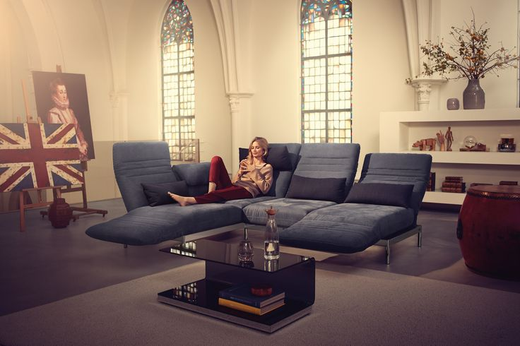 Rolf Benz PLURA sofa line. Rolf Benz Studio, Boston, MA