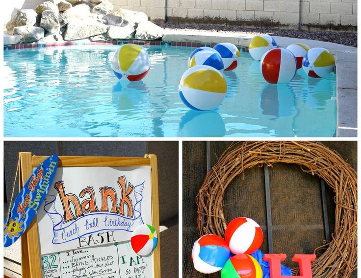 Hank's Beach Ball Birthday Bash - Beach Balls