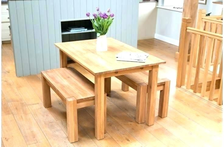 Brainy small table with bench seating Pictures, ideas small ...
