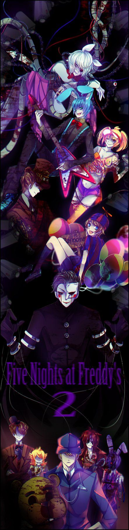 Five Nights at Freddy's2 by gatanii69 on DeviantArt