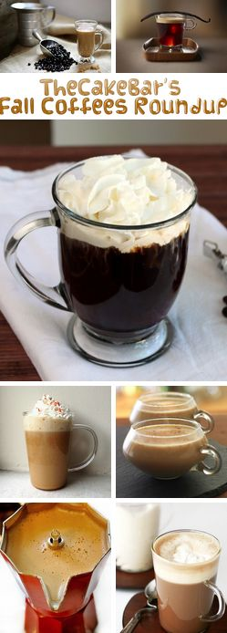 TheCakeBar's Autumn Treats Roundup  I've decided to make a new series of posts that will highlight what's trending @Matt Valk Chuah Cake Bar!!! So….above are pictures that I've collected recently or over the years from wonderful blogs all over the internet with fantastic fall themed recipes! #coffee #fall #autumn #recipe #recipes #nespresso http://thecakebar.tumblr.com/post/64775712682/thecakebars-fall-coffee-recipes-roundup-ive