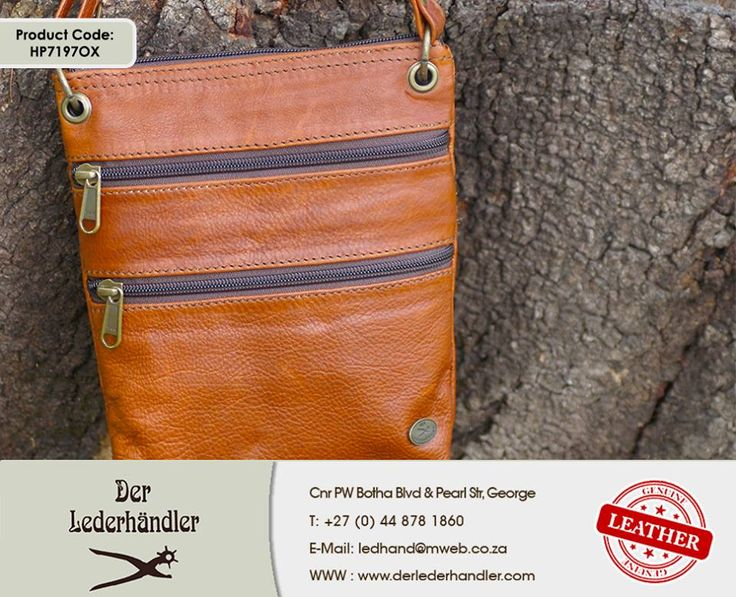 If you are tired of losing your keys and cell phone or carrying it around in your pockets, then you need to get yourself down to #DerLederhandler for this stylish genuine leather bag. For more information, enquire now at http://anapp.link/5v3 (Desktop) or http://anapp.link/5v4 (Mobile) or visit our website: http://asite.link/5we. #genuineleather #gentsbag #kuduleather
