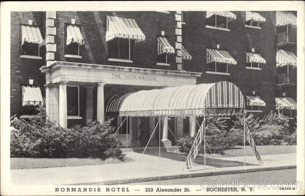 Normandie Hotel Rochester Ny Normandie Hotel Hotel Normandy