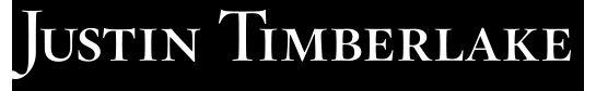 Justin Timberlake logo #music