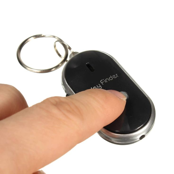 Description : Portable Mini LED Key Finder Locator Find Lost Keys Chain Keychain Whistle Sound Control    Features : LED Sound Control Lost Key Torch Finder Keyring Keychain. Elegant design and high quality. LED torch, convenient to look for the lock eye. Remote control by...