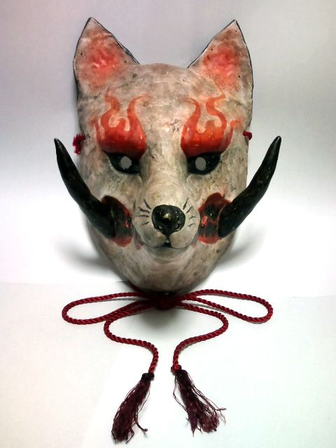 Kabuki kitsune - japanese fox mask