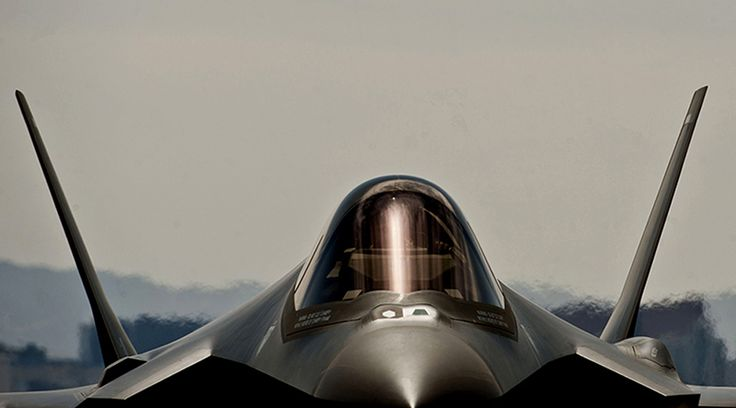 Fourth F-35 Lightning II arrives at Nellis Air Force Base
