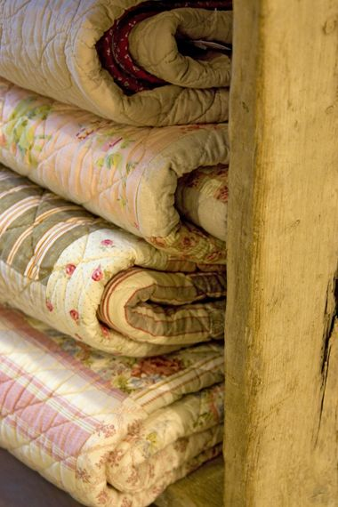 Color inspiration beautiful quilts handed down from grandmothers or older relatives.