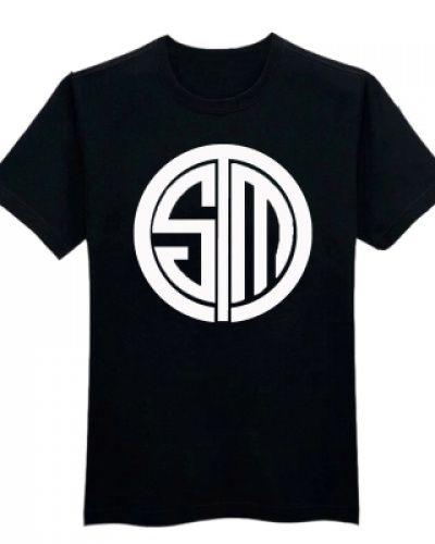 lol team tsm t shirt for men LPL 2015 League of Legends tee