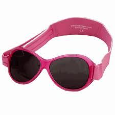 Retro Banz in Berry Pink - to fit Baby (0-2 years) and Kidz (2-5+ years); $38
