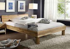 Doppelbett Bett 200x200 Wildeiche Eiche Holz massiv geölt NEU OVP!!!