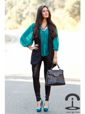 Outfits Azul Turquesa