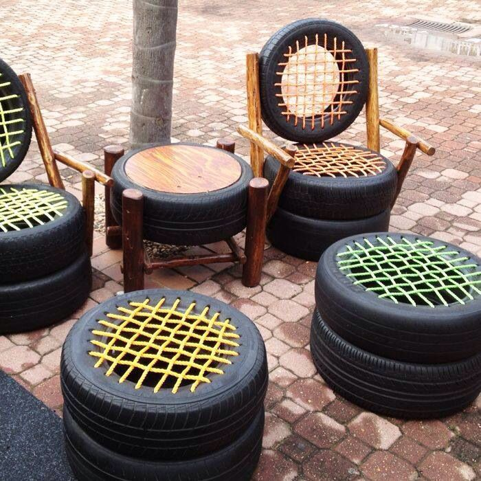 Innovating seating for outdoors